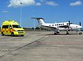 Beech Super King Air Medical flight.jpg