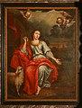 Begijnhofkerk, schilderij in zijaltaar van Sint-Agnes - 373827 - onroerenderfgoed.jpg