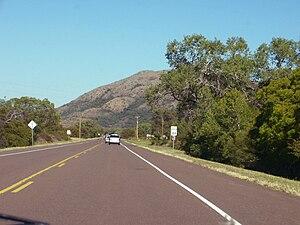 Oklahoma State Highway 44 - SH-44 begins in the Quartz Mountains of southwest Oklahoma.