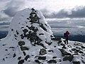Beinn a'Chuallaich summit cairn - panoramio.jpg
