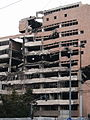 Belgrade NATO bombardment damage1.JPG
