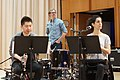 Ben Folds and yMusic read song arrangements by Duke University composition graduate students (17247895215).jpg