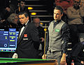 Ben Williams and David Gilbert at Snooker German Masters (Martin Rulsch) 2014-01-29 01.jpg