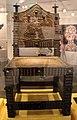 Benin, fon, trono in legno e bronzo.JPG
