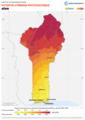 Benin PVOUT Photovoltaic-power-potential-map lang-FR GlobalSolarAtlas World-Bank-Esmap-Solargis.png