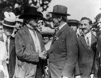 Benjamin Tillman - Tillman (center left) with Woodrow Wilson
