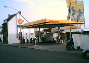 Fuel - A gasoline station