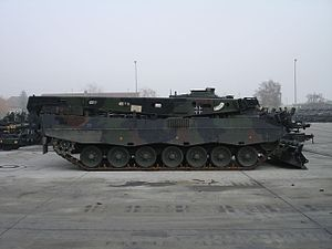Armored recovery Buffalo (right side)