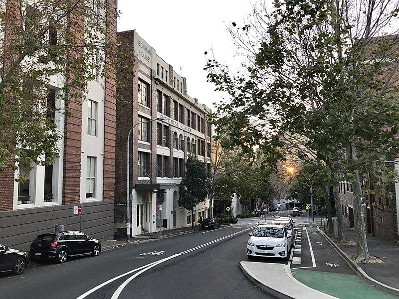 Calle de Surry Hills para alojarse en Sydney