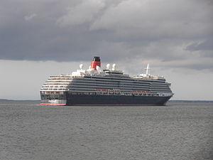 Bermuda'ship Queen Victoria departing Port of Tallinn 18 May 2012.JPG