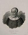 Bernardinus Telesius. Line engraving by G. Guzzi. Wellcome V0005751.jpg