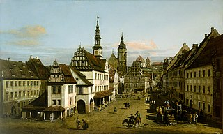 The Marketplace at Pirna
