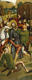 Bernhard Strigel - The Arrest of Christ - Walters 37666.jpg