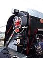 Beroun, Křivoklát expres (prosinec 2013), čelo lokomotivy.jpg