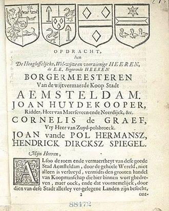 Adriaen van der Donck - Image: Beschryvinge van Nieuw Nederlant