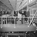 Bezoek aan het Nederlands Scheepsbouwkundig proefstation te Wageningen, rondgang door het - Nationaal Archief - 911-1107.jpg