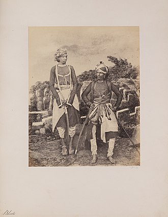 Bhat - Bhats in western India (c. 1855-1862)