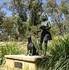 Bibbulman Yorga woman and dog, Joondalup.jpg