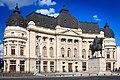 Biblioteca Centrală Universitară - Statuie Carol I - Vedere Generala.jpg