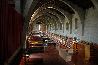 National Library of Catalonia - Main hall