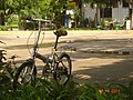 Bicycle parked on a street - 2011 (1504).jpg
