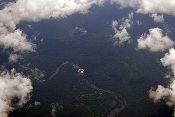 Bird's eye view of Athirappilly Waterfalls.jpg