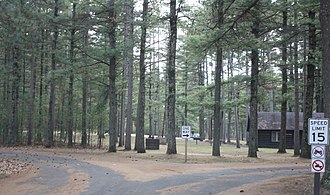 Black River State Forest - Campgrounds entrance