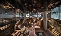 Blick ins Museum Judengasse mit den Ruinen des ersten jüdischen Ghettos Europas.jpg