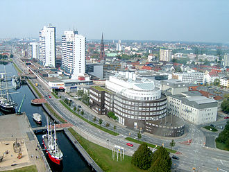 Bremerhaven - View from radar tower