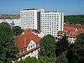 Blick zum Studentenwohnheim Jakobsplan in Weimar.jpg