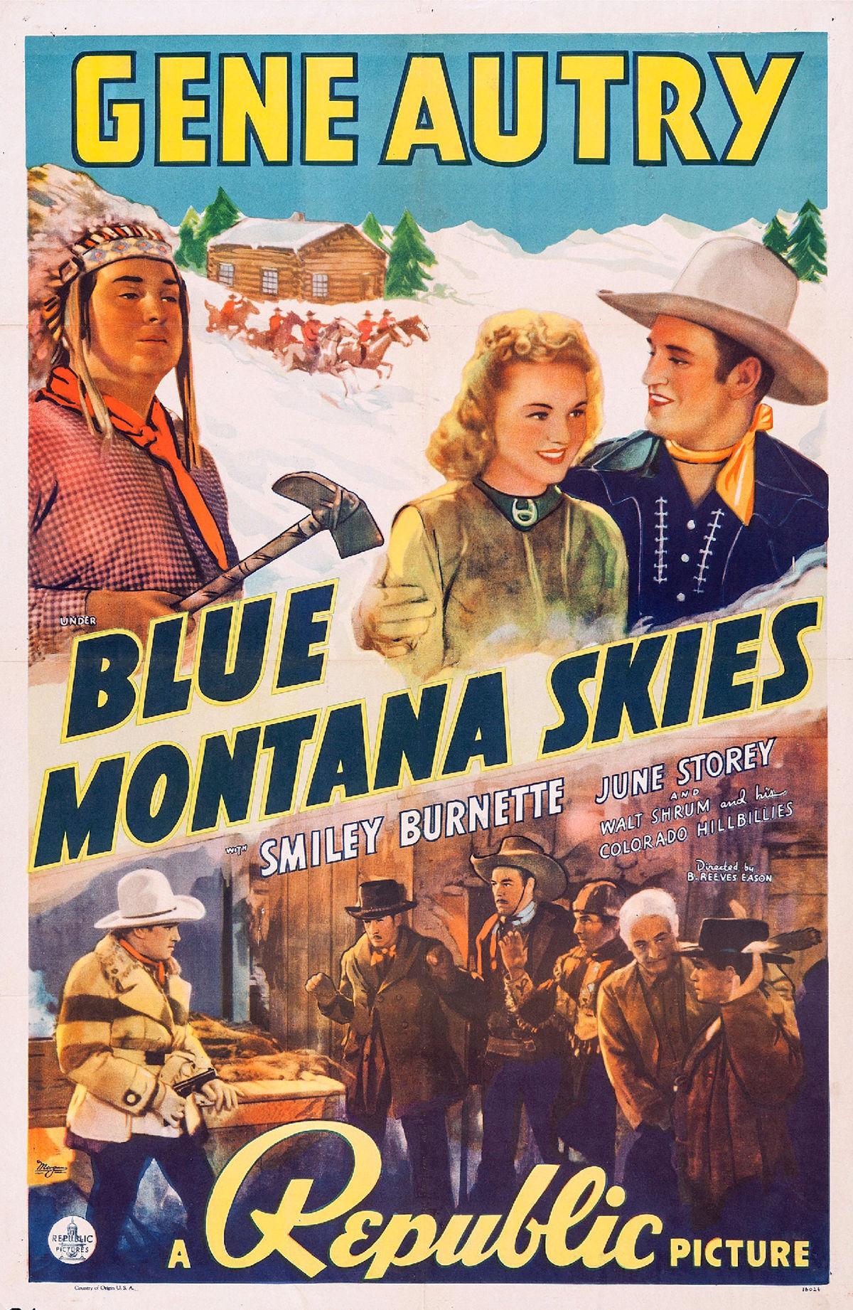 Gene Autry Blue Montana Skies / Rhythm Of The Hood Beats
