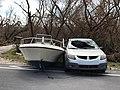 Boat washed ashore (37049591166).jpg