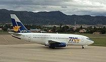 Boeing 737-200 de TAM en Tarija.JPG