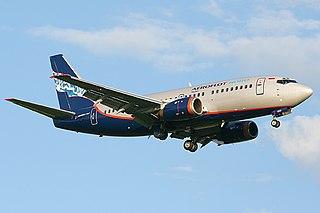 Aeroflot Flight 821 2008 Boeing 737-500 crash in Russia