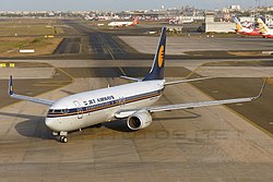 Boeing 737-8FH, Jet Airways JP6271655