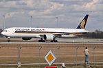 Boeing 777-312ER Singapore Airlines 9V-SWO (12703041733).jpg
