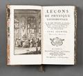 """Boken """"Leçons de physique expérimentale"""" författad av Nollet, tryckår 1749 - Skoklosters slott - 86170.tif"""