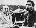 Bologna FC - 1961 Mitropa Cup - Renato Dall'Ara, Mirko Pavinato.jpg