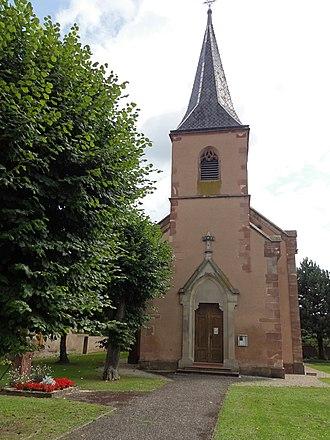 Église Saint-Étienne de Boofzheim - Église Saint-Étienne de Boofzheim