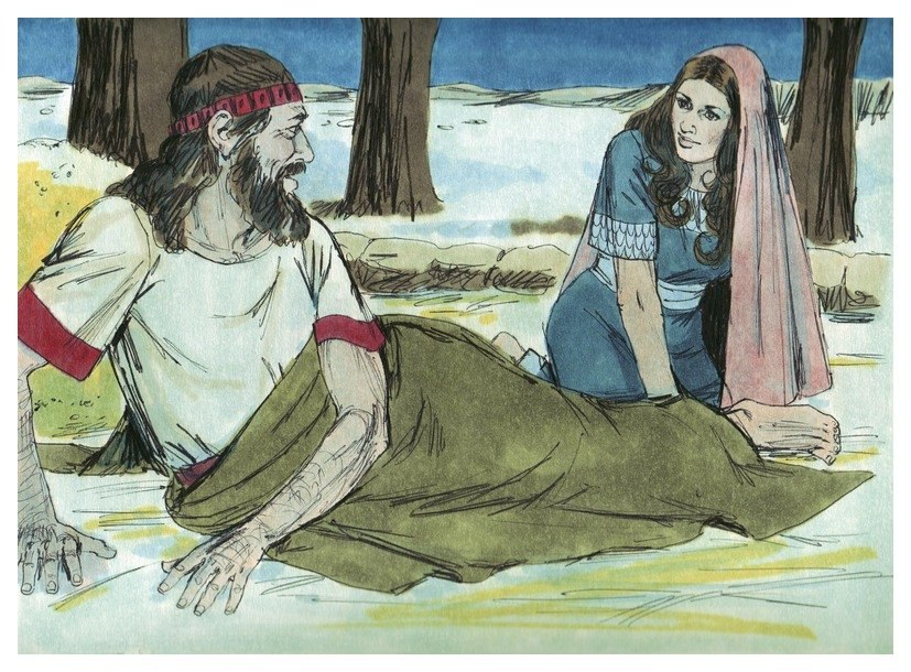 Book of Ruth Chapter 3-4 (Bible Illustrations by Sweet Media)