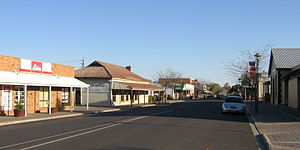 Bordertown, South Australia - Main street in Bordertown