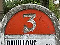 Borne Kilométrique 16 Route N3 Parc Lefèvre - Livry Gargan - 2020-08-22 - 3.jpg