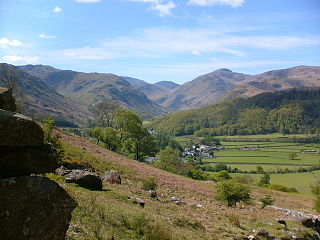 Borrowdale Human settlement in England