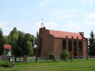 Bortatycze Village in Lublin, Poland