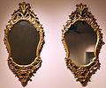 Bottega forse lombarda, coppia di speccbhi, 1750 ca., da galleria degli specchi di palazzo durini.JPG