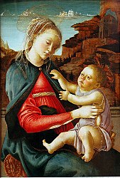 Sandro Botticelli: Madonna and Child