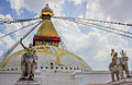 Boudhanath Stupa - Rear View.jpg