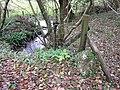 Boundary stone, Leighton Beck - geograph.org.uk - 1591093.jpg