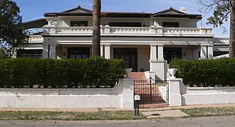 National Register of Historic Places listings in Santa Cruz County, Arizona - Image: Bowman house (Nogales, Arizona) 2