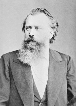Nänie - The composer in 1887